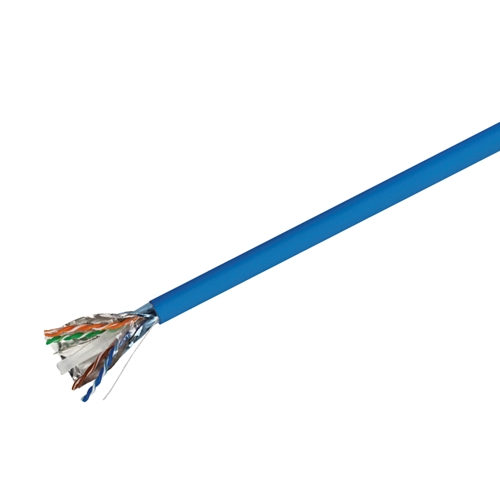 CAT 6 F/UTP Solid Riser CMR Cable, 1000 FT Spool